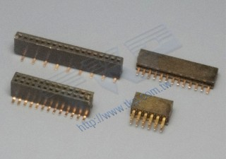 1,27 mm-2011 & 2012 Board-to-Board-Serie weiblicher Header